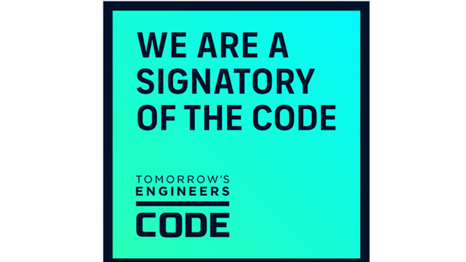 we are a signatory of the code badge
