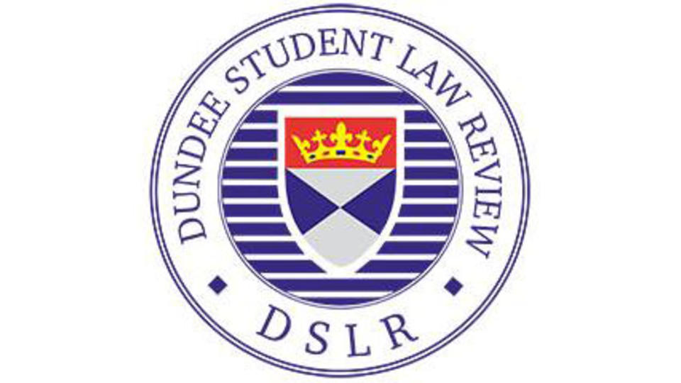 Dundee student law review logo