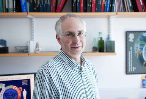 A photograph of Professor Ian Gilbert